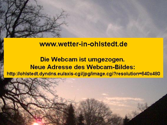 Klicken Sie auf das Bild um die Webcam zu besuchen.